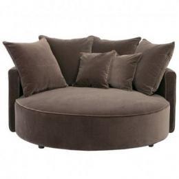 runder sessel love chair neu f r. Black Bedroom Furniture Sets. Home Design Ideas